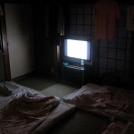 ночь комната телевизор