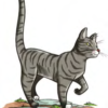 Пружинистая кошка